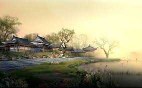 chinese landscape wallpaper