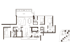 Residence Floor Plan | leedon residence floor plans
