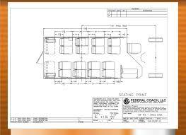 church floor plan safe church buses built by federal coach buses high quality 20