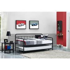 Black Daybed With Trundle Choice