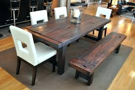rustic farm dining table exquisite small table with bench rustic dining benches in room
