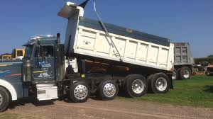 used kenworth dump trucks 1999 peterbuilt 379 quad axle dump truck for sale by online