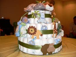 Ladybug Themed Baby Shower Cakes - diaper cakes make great baby shower gifts how to make your own