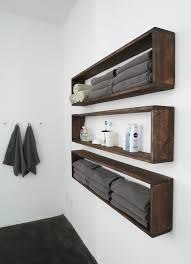 Build A Simple Wood Shelf Unit by Diy Wall Shelves In The Bathroom Tutorial Diy Wall Shelves