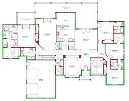 baby nursery rambler floor plans with basement best ranch house