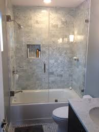 bathroom shower doors ideas bathroom remodel bathroom with walk in shower and bathtub with