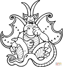 dragon head coloring pages dragon picks his nose coloring page free printable coloring pages