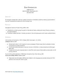 resume for high graduate with no work experience