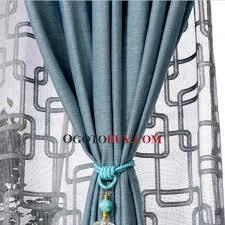 Blue Burlap Curtains Blue Burlap Curtains Platinumsolutions Us