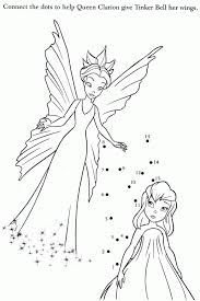 tinkerbell friends coloring