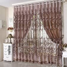 Thick Purple Curtains 2018 2015 New Arrival Ready Made Luxury Curtain For Living Room