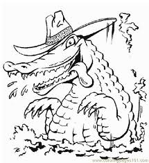 alligator style coloring free alligator coloring pages
