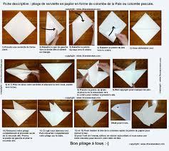 Pliage Serviette Papier Poinsettia by