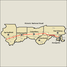 maryland byways map historic national road map america s byways
