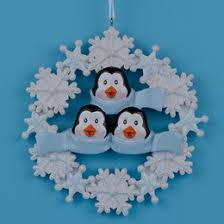 personalized family ornaments personalized family