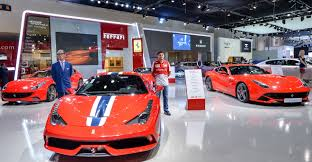 ferrari dealership inside this drop top ferrari is the only supercar you need to look at