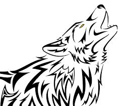 howling wolf tribal by kiowara on deviantart
