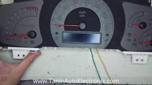 2006 2007 2008 honda ridgeline speedometer odometer screen lcd
