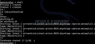 learn android linux command line shell how to create a persistent back door in android using kali linux