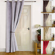 Thermal Curtains For Winter Thermal Lined Door Curtain Ebay