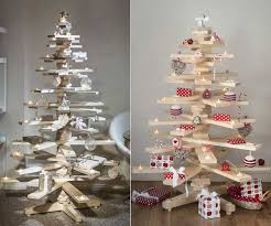 wooden christmas tree timbatree is a greener alternate to the traditional christmas tree