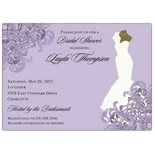 wedding shower invitation gown american bridal shower invitations paperstyle