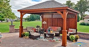 Outdoor Patio Canopy Gazebo by Pavilions Outdoor Pavilions Horizon Structures