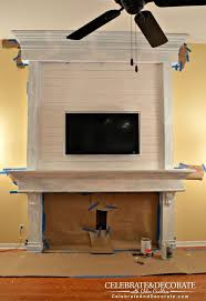 how to shiplap a fireplace or a wall hometalk