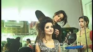 bridal hair styling by aisha at aisha u0027s salon u0026 spa youtube