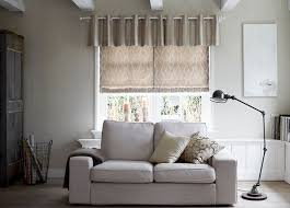 Flat Roman Shades - roman shades modern decorative fabric budget blinds