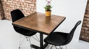 Copper Bistro Chair Copper Bistro Table