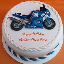 brothers birthday wishes bike cakes whatsapp pictures