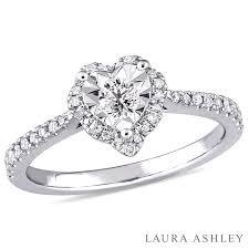 3 engagement ring womens 1 3 ct t w genuine white diamond