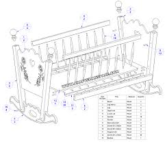 Plans For Baby Crib by Inspirational Baby Crib Plans Homedessign Com