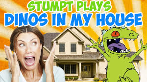 House Of Tiny Tearaways by Dinosaurs In My House Butt Stomps And Fire Balls 4 Player