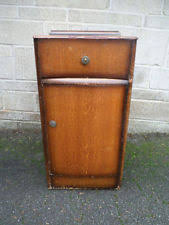 Vintage Bedside Tables Vintage Retro Matching Pair Bedside Tables U0026 Cabinets Ebay
