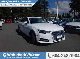 used audi a4 for sale north vancouver bc cargurus