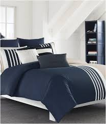 comforters ideas fabulous navy blue and white comforter awful