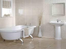 small bathroom tile floor ideas glossy beige tile flooring ideas for small bathrooms using antique