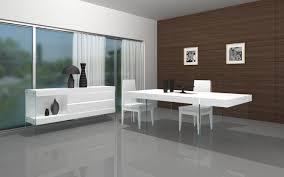 white modern dining table set modern glass dining room sets yellow furnitures white vinyl flooring