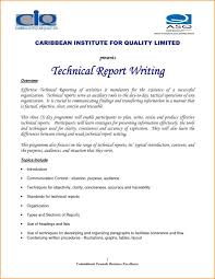 template for technical report technical report template template business