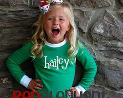 personalized christmas for kids monogrammed christmas pajamas kids christmas pajamas family