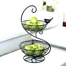 3 tier fruit basket 3 tiered fruit stand npedia info