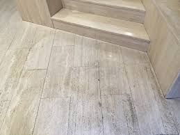 polishing travertine floor london office stone proshine