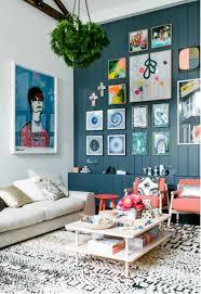 Wohnzimmer Farbe Blau Kreative Wandgestaltung Mit Farbe U2013 18 Ideen Für Akzentfarben