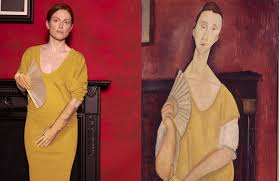 modigliani woman with a fan bringing art to life pt i
