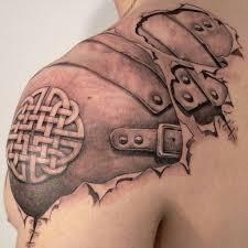 shoulder blade tattoo ideas for men