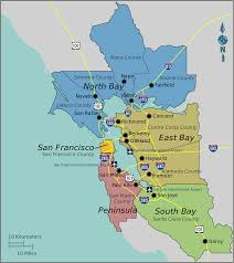 San Francisco Ca Map by Bay Area U2013 Travel Guide At Wikivoyage