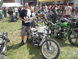 custom painted harley davidson motorcycle by casey kennell the