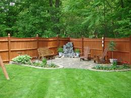 simple backyard patio designs and paver trends images with fire